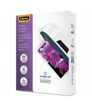 Fellowes ImageLast Letter-Size 3 Mil Laminating Pouches with UV Protection, 200/Pack