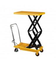 """Wesco LT-1540DSL 59"""" H Double Scissor Lift Table 1,540 lb Load 24"""" x 48"""""""