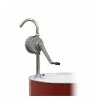 """Wesco 8.75"""" L Stainless Steel Rotary Drum Pump"""