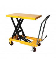Wesco Heavy Duty 1650 to 2200 lb Load Scissors Lift Tables