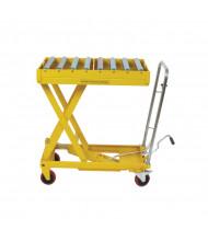 """Wesco DRT-2033 Roller Top Scissors Lift Table 660 lb Load 19.5"""" x 32.5"""""""