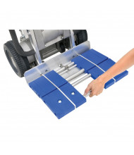Wesco Nose Plate Extension with Casters for LiftKar HD Stair Climbing Hand Trucks (Shown Attached)