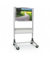 Balt 27544 Heavy-Duty Platinum Flat Panel Cart (example of use)