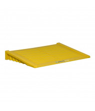 Just-Rite 28650 Ramp For 2-Drum and Larger Ecopolyblend Accumulation Center, Yellow