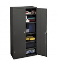 "HON Brigade SC1872S 36"" W x 18"" D x 72"" H Storage Cabinet in Charcoal, Assembled"