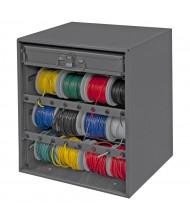 Durham Steel Wire Spool Storage Rack