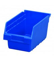 Akro-Mils ShelfMax Plastic Storage Bins (Shown in Blue)