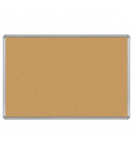 Best-Rite 302PH Natural Cork 8 ft. x 4 ft. Silver Presidential Finish Bulletin Board