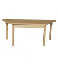 """Wood Designs 60"""" W x 30"""" D Trapezoid High Pressure Laminate Elementary School Tables"""