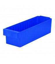 Akro-Mils AkroDrawer Plastic Storage Bins, Blue