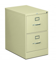 """HON 2-Drawer 26.5"""" Deep Vertical File Cabinet, Legal Size (Shown in Putty)"""