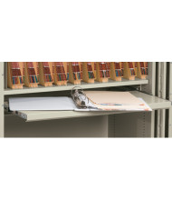 """FireKing Pull Out Tray Writing Shelf for 36"""" W Storage Cabinet"""