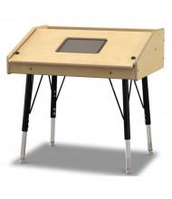 """Jonti-Craft 27"""" W x 21"""" D Single Tablet Table"""