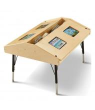 """Jonti-Craft 42"""" W x 33"""" D Quad Tablet Table"""