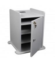 Balt 34409 Locking Cabinet for Presentation Cabinet, Grey