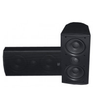 "MTX Audio MP52B Dual 5"" Woofer Home Theater Speaker, Black"