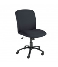 Safco Uber 3490 Big & Tall 500 Lb. Fabric High-Back Task Chair (Shown in Black)