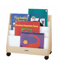 Jonti-Craft Big Book Pick-a-Book Mobile Display Stand (example of use)