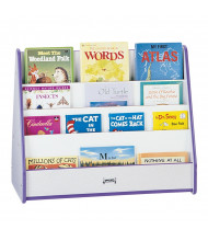 Jonti-Craft Rainbow Accents Pick-a-Book Display Stand (Shown in Purple, Front Side)