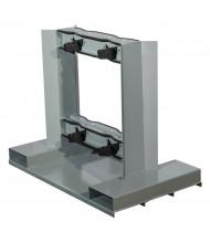 Justrite 4-Cylinder Low Profile Pallet Forklift Attachment 1200 lb Load