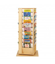 Jonti-Craft Revolving Large Book Display Tower (example of use)