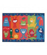 Carpets for Kids Alphabet Monsters Rectangle Classroom Rug