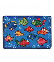 Carpets for Kids Something Fishy Rectangle Classroom Rug