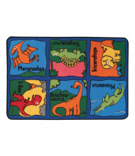 Carpets for Kids Dino-Mite Rectangle Classroom Rug