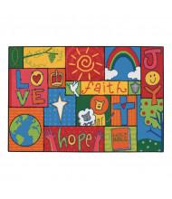 Carpets for Kids Inspirational Patchwork Rectangle Classroom Rug