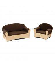 Jonti-Craft Preschool Komfy Sofa and Chair Set