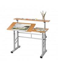 Safco Adjustable Height Split-Level Drafting Table