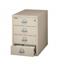 FireKing Fireproof Card, Check & Note Record Cabinet (Shown in Parchment)