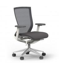 Cherryman idesk Oroblanco 402 Mesh-Back Fabric High-Back Task Chair (Shown in White)