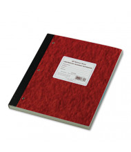 "National Brand 9-1/4"" X 11"" 200-Sheet Quadrille Rule Lab Notebook, Brown/Red Cover"