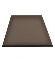 NoTrax 440 Superfoam Comfort 3' x 5' Sponge Back Rubber Anti-Fatigue Floor Mat, Black
