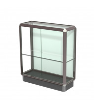 """Waddell Prominence 443 Series Counter Display Case 36""""W x 40""""H x 14""""D (Shown in Dark Bronze)"""