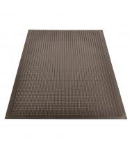 NoTrax 447 Comfort-Eze 2' x 3' Rubber Anti-Fatigue Floor Mat, Black