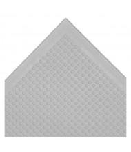 NoTrax 448 Autoclavable 2' x 3' Rubber Anti-Fatigue Floor Mat, Grey