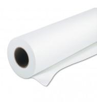 "HP Designjet 36"" x 100 Ft., 55lb, White Matte Large Format Paper Roll"