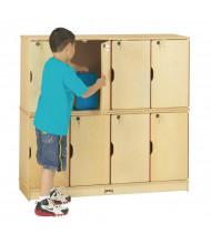 Jonti-Craft ThriftyKYDZ 8-Section Lockable School Locker
