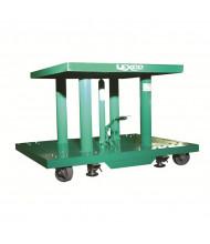 Lexco 2000 lb Load Manual Hydraulic Lift Tables