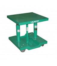 "Lexco 500 lb Load 20"" x 30"" Manual Hydraulic Lift Tables"