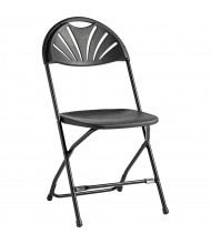 Samsonite 2000 Series Fanback Folding Chair, Pack of 10 (Shown in Black)
