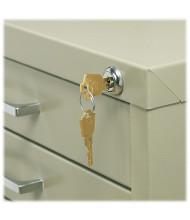 Safco Lock Kit for 5-Drawer Flat File Cabinets