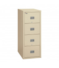 """FireKing Patriot 4-Drawer 31"""" Deep 1-Hour Rated Fireproof File Cabinet, Letter (Shown in Parchment)"""