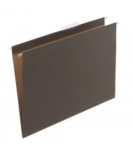 """Safco 18"""" W x 14"""" H Hanging File Folders, Green 25-Pack"""