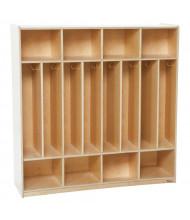 Wood Designs Childrens Classroom 8-Section Locker Storage