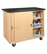Diversified Woodcrafts STEM Mobile Balance Classroom Storage Cabinet (Scales and Balances Not Included)