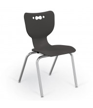 """Balt Hierarchy 18"""" H Stacking Classroom Chair, 5-Pack (Shown in Black)"""