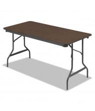 """Iceberg 55314 30"""" x 60"""" Economy Wood Laminate Folding Table"""